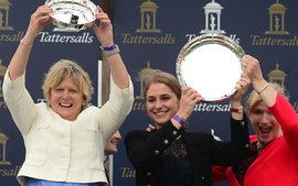 Harrington the world's third-ranked female trainer after first classic victory
