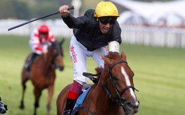 Dettori beginning to move into top gear