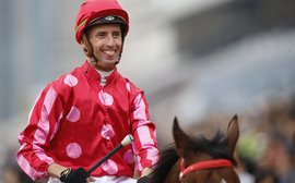 A former world number one jockey shows he's still got what it takes