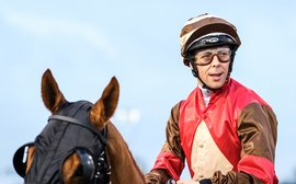 Relentlessly determined: the rider who has set British racing alight over the winter