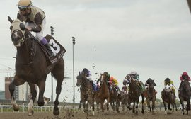 No spectators, but the Queen's Plate still generates a huge betting handle
