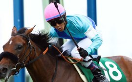 The year's big mover in the global jockey standings