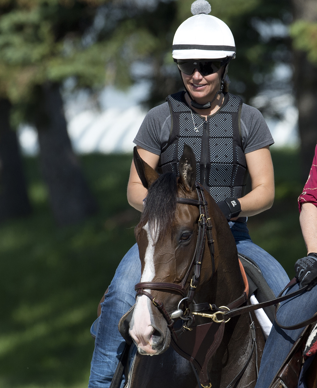 Inflexibility prepares for Sunday's Queen's Plate. Photo: Woodbine Entertainment Group