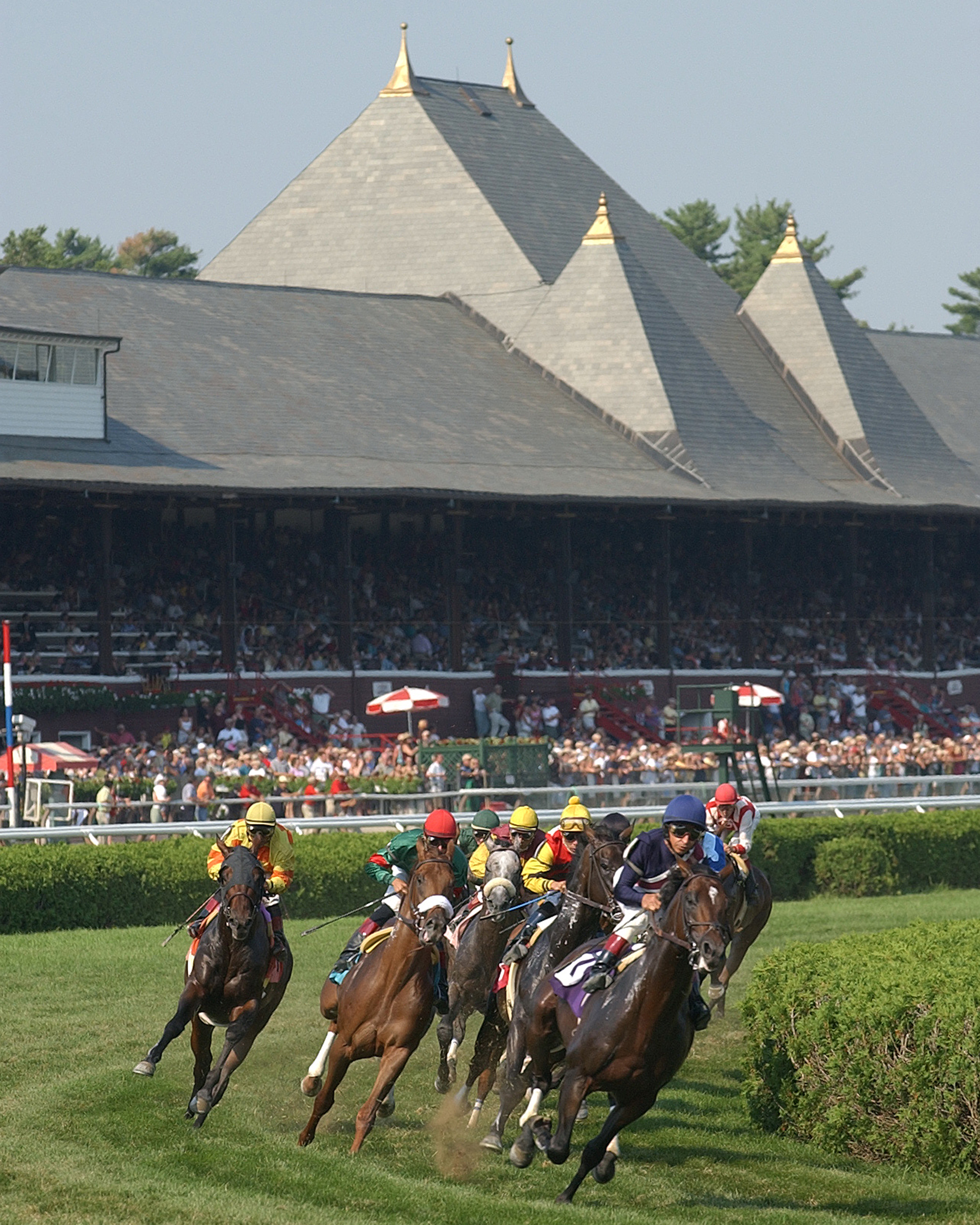 Saratoga leads all America's racetracks in attendance and wagering, but it wasn't always that way. Photo: NYRA.com