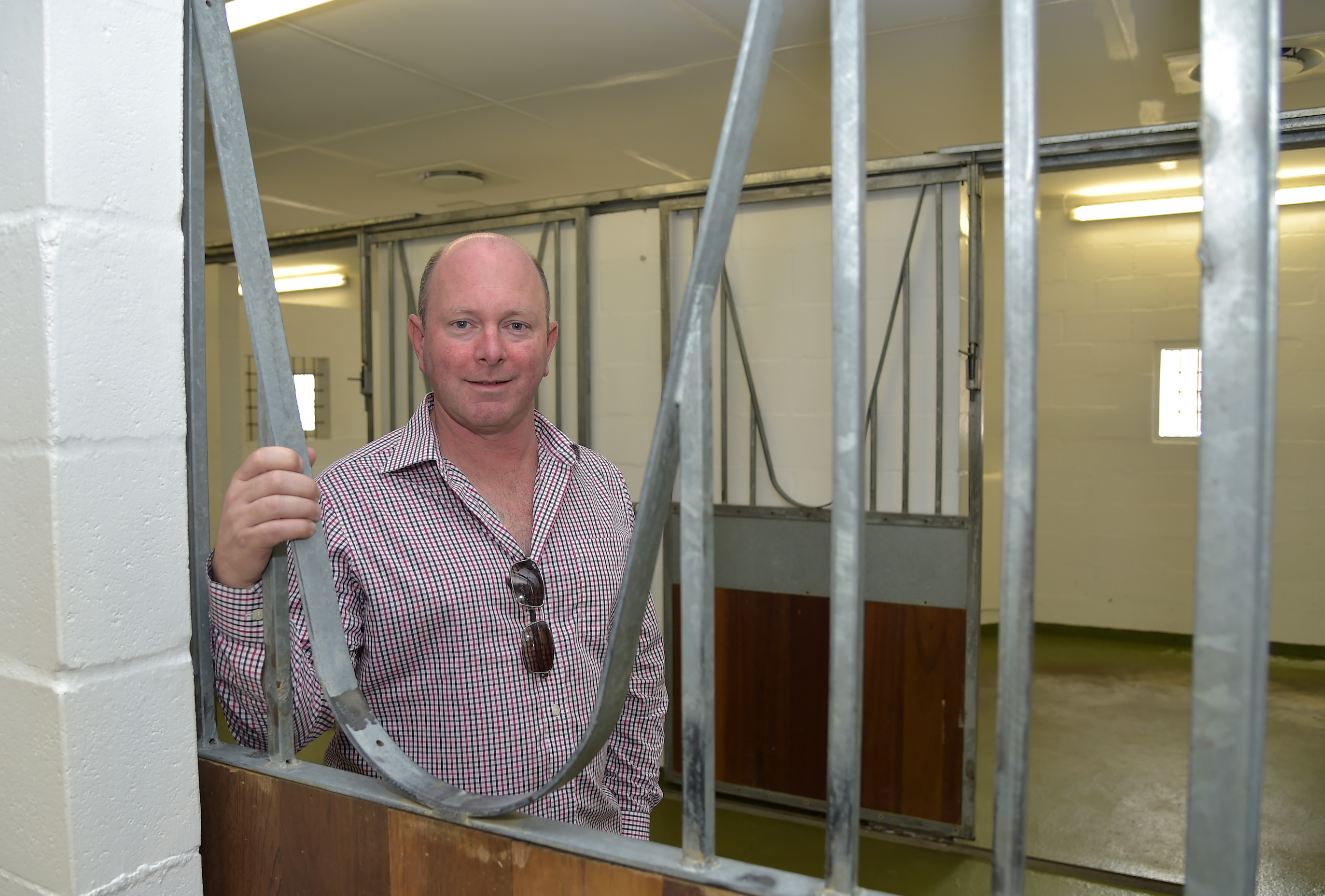 "Task force leader Adrian Todd at the Cape Town facility where the quarantine process begins. ""A lot of people overseas don't seem to be aware that we already have protocols in place,"" he says. ""They think we're starting from scratch, but that's not the case."" Photo: Hugh Routledge"