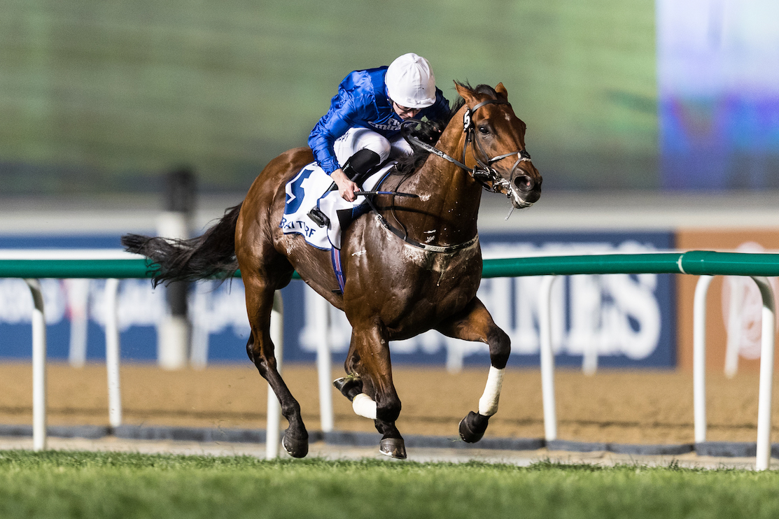 R0yal Ascot is on the agenda now for Benbatle, who was Saeed Bin Suroor's sixth winner of the Dubai Turf. Photo: Dubai Racing Club/Neville HopwoodPhoto: Dubai Racing Club/Neville Hopwood