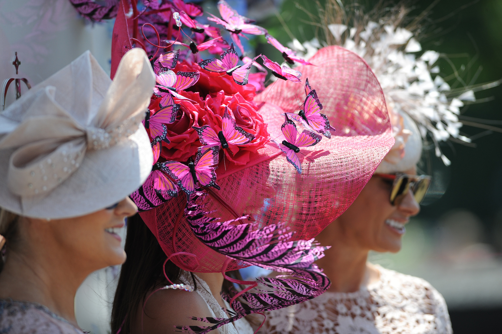 A recent economic review conducted by Ascot estimated that over half of the direct spending of racegoers at the royal meeting goes on fashion and related beauty treatments. Photo: Racingfotos.com