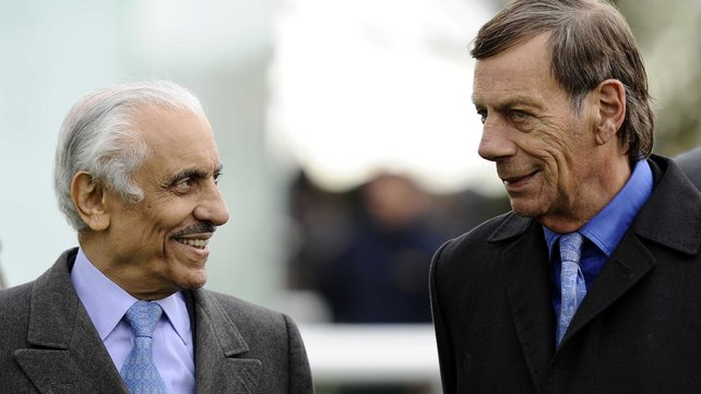Prince Khalid Abdullah with the late Sir Henry Cecil, who won the flagship Juddmonte International for the Prince in 2011 (Twice Over) and 2012 (Frankel)