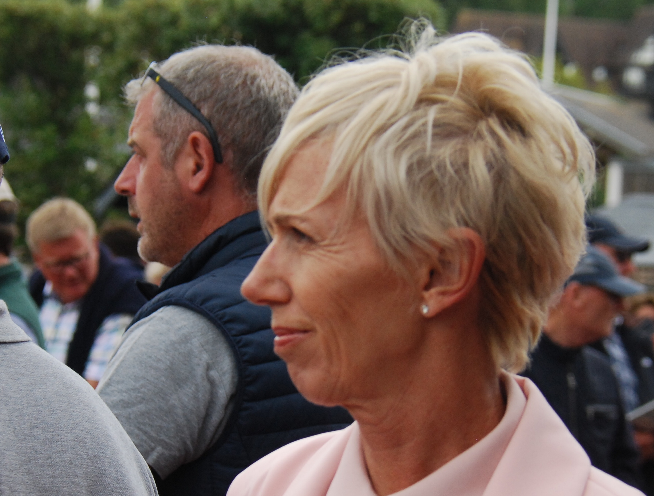 "Gillian Heinrich at Deauville last year: ""The intention is to go back to France and become involved in French racing."" Photo: John Gilmore"
