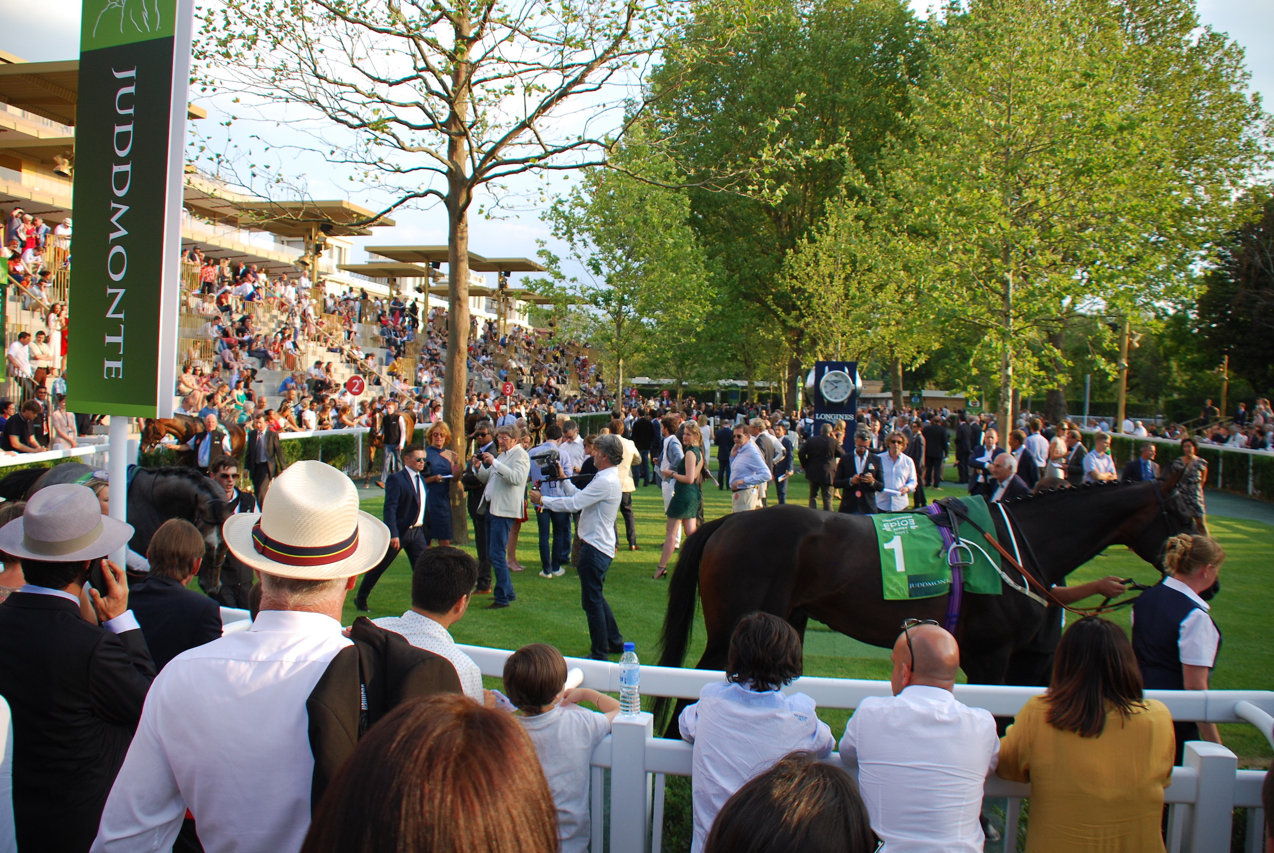 The new-look ParisLongchamp paddock on Juddmonte Grand Prix de Paris day in July. Photo: John Gilmore