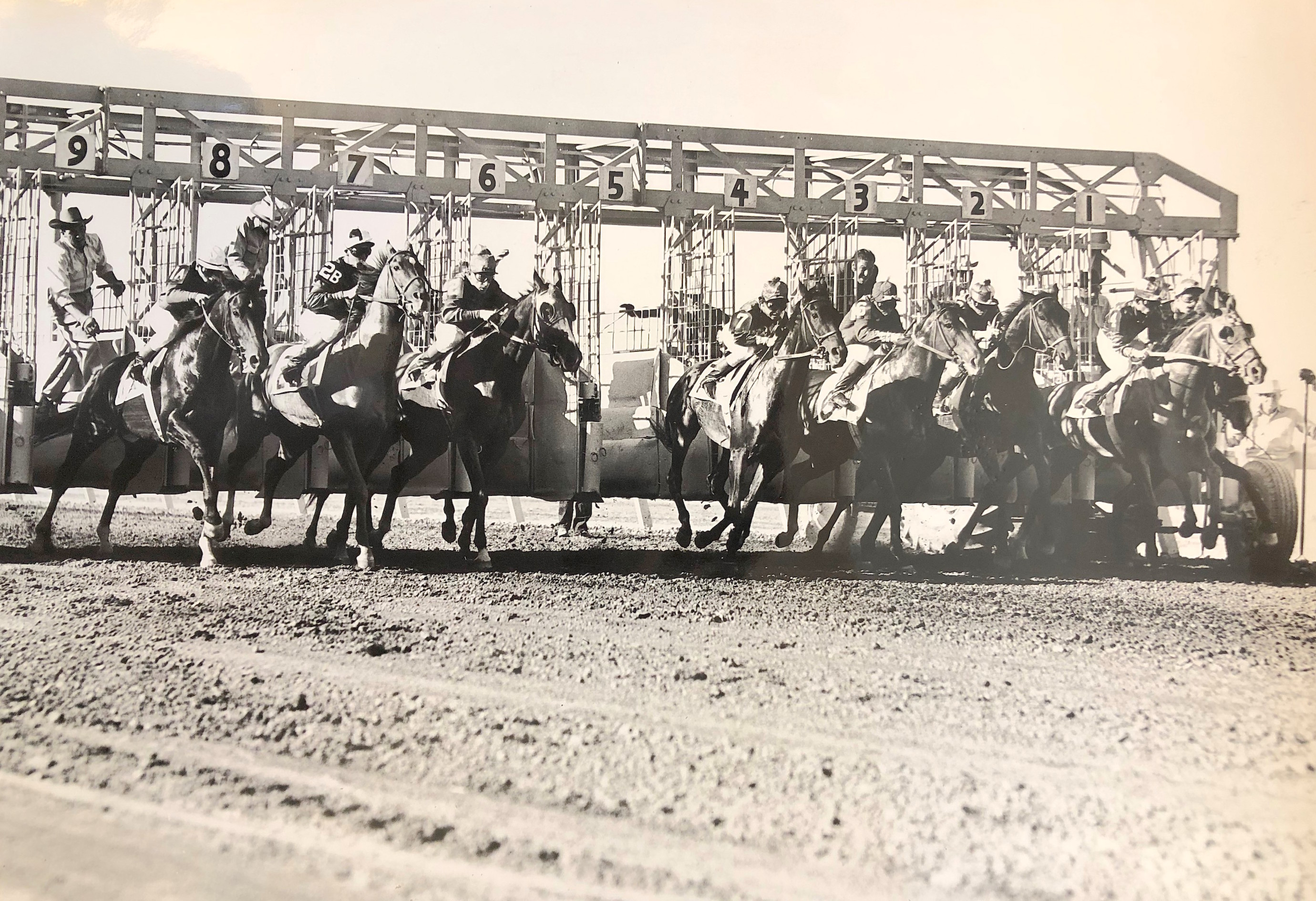 One of the few races that were ever run at Las Vegas Park. Photo: Keeneland Library Thoroughbred Times collection