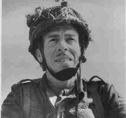 Mission commander Major John Howard. Photo courtesy of Penny Howard Bates