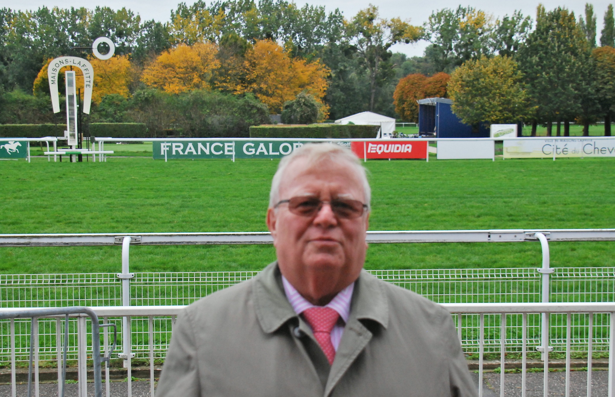 Mayor Jacques Myard has been battling the proposed closure of Maisons-Laffitte for many years. Photo: John Gilmore